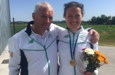 Gold glory for Ireland's Jenny Egan as she defends her World Cup title