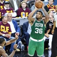Bradley's game-winning three pointer on the buzzer completes Boston's stunning comeback