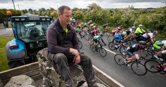 The best bits from the An Post Rás as van Schip rides clear to win Stage 2