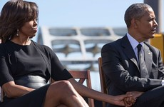 Obama's former photographer just threw shade at Melania and Donald for not holding hands