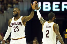Order restored as Irving and James double up to beat Celtics