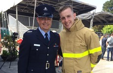 'It's a massive honour - I'm the third generation of firefighter in my family'