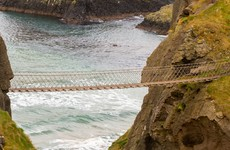 Vandals tried to cut down the iconic Carrick-a-Rede rope bridge