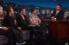 Bono eloquently expressed his major problem with Donald Trump on Jimmy Kimmel last night