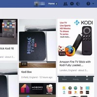 There are hundreds of piracy-enabling gadgets for sale on Facebook, despite a ban