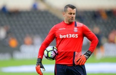 Irish goalkeeping great Shay Given could be set to retire after release from Stoke