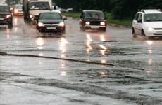 Motorists warned about 'greasy roads' as heavy rain forecast for weekend