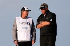 Clarke fires his caddie six months after British Open win