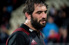 Sam Whitelock in barnstorming mood as Crusaders win 9-try shoot-out against Rebels