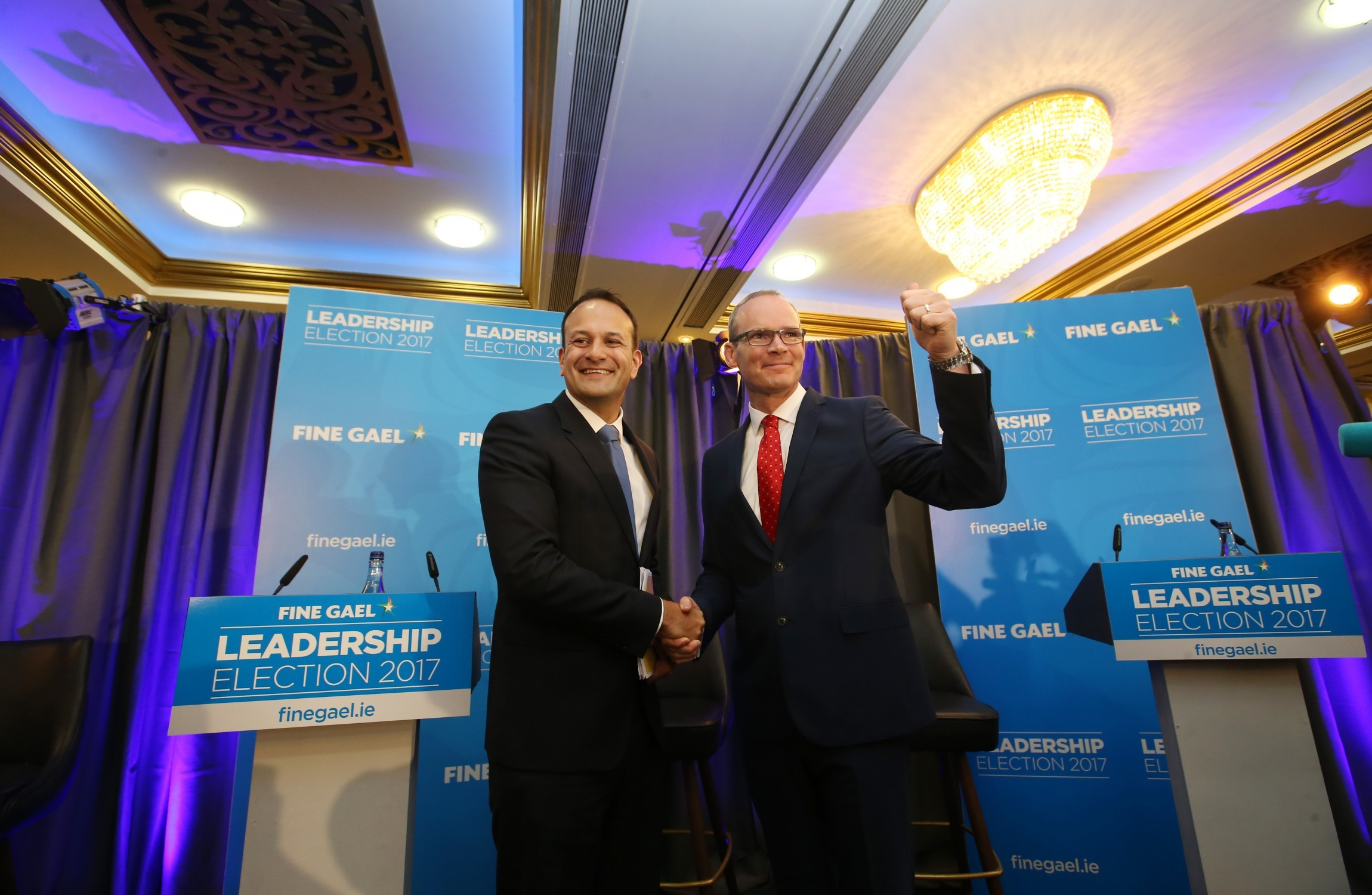 Support for Ireland's Fine Gael surges amid leadership contest