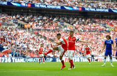 Watch: Alexis Sanchez's controversial goal gave Arsenal the lead in the FA Cup final