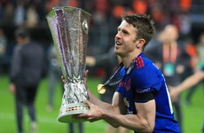 Michael Carrick is staying at Man United for another year