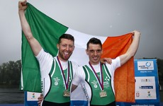 Gold! Cork duo O'Donovan and O'Driscoll storm to victory at European Championships