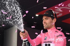 Tom Dumoulin wins 100th Giro d'Italia in final stage thriller