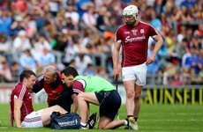 Setback for emerging Galway defender who suffered suspected cruciate injury against Dublin