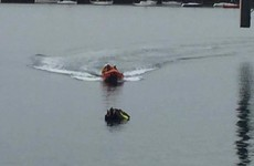 RNLI rescues two people without life jackets from submerged jet ski