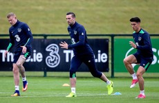 'They're just a little bit sore' - Ireland players passed fit to train after 'pile-up'