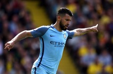 Man City chairman rules out 'ridiculous' Aguero exit
