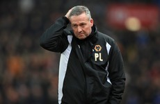 Wolves sack Paul Lambert after just seven months in charge