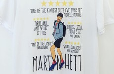 An Irish illustrator has helped design a wonderful t-shirt in memory of Manchester victim Martyn Hett