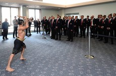 Watch: British and Irish Lions receive traditional haka welcome upon arriving in New Zealand