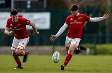 Bill Johnston among five academy players awarded Munster contracts