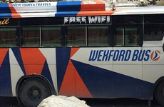 A 'Wexford Bus' has been spotted doing the rounds in the mountains of Nepal