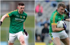 Two starting debutants in Meath team as Louth unchanged for Leinster quarter-final