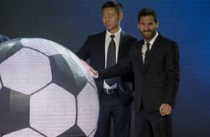 Left field: Lionel Messi is opening his own theme park in China