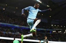 Going nowhere: Yaya Toure extends Manchester City stay