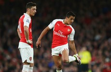 Sell 'overindulged' Ozil and Alexis Sanchez, says Arsenal legend