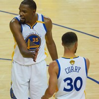 Durant and Curry prove too hot for the Cavs in Game One of the NBA Finals