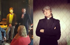 Dermot Morgan's sons have been in to see this brilliant new waxwork of their dad in Dublin