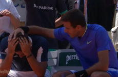 Everyone fell in love with Juan Martin Del Potro a little more after this sporting moment