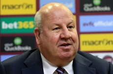 Aston Villa chief suspended for asking if bad referees were 'disabled'