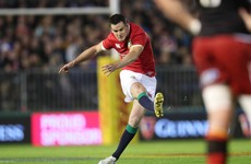 Sexton struggles badly as Irish contingent make mixed start to Lions tour