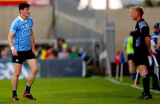 Watch: Diarmuid Connolly could be in hot water after this heated exchange with the linesman