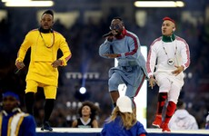 Everyone was talking about The Black Eyed Peas and their deeply cringey Champions League performance