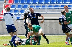 Second successive defeat leaves Ireland bottom of U20 World Championship pool