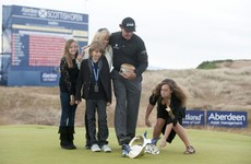'There's no greater joy as a parent': Family comes first for Mickelson as he skips US Open