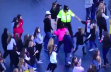 A police officer danced to Bieber with some kids in the sweetest moment at One Love Manchester