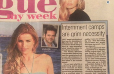 Vogue Williams wrote a column calling for the internment of Muslims, and people are baffled