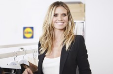 Heidi Klum is launching a fashion line for Lidl, and it's coming to Ireland