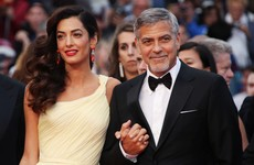 George and Amal Clooney have had their twins, and George is already cracking dad jokes