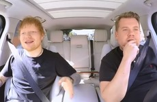 Ed Sheeran told a great story on Carpool Karaoke about getting drunk with Justin Bieber... it's the Dredge