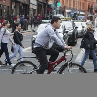Cycling to work is only healthy if the government makes it safe, new study says