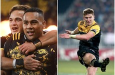 Two new faces included in imposing All Blacks squad for Lions series