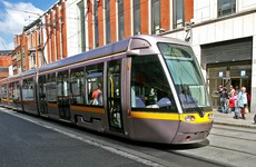 'It'll be quite a spectacle': Luas to travel very, very slowly through city centre to test out new line