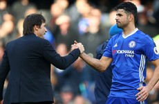 Costa: I got a text from Conte to say he doesn't want me next season