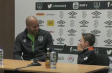 Young Ireland fan is absolutely made-up after surprise visit from Darren Randolph